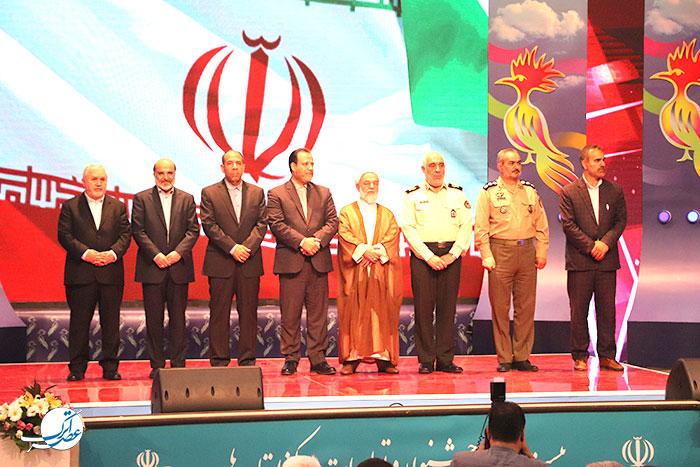 اختتامیه بیست و دومین جشنواره تولیدات مراکز استانها خراسان شمالی، خراسان شمالی، صداوسیما، عسکری